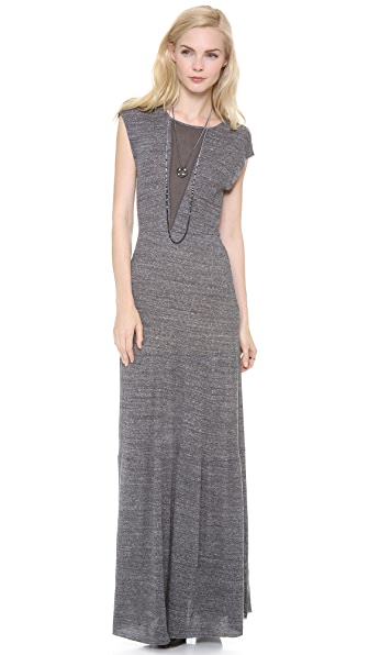 Nightcap Clothing Rib Caletto Maxi Dress