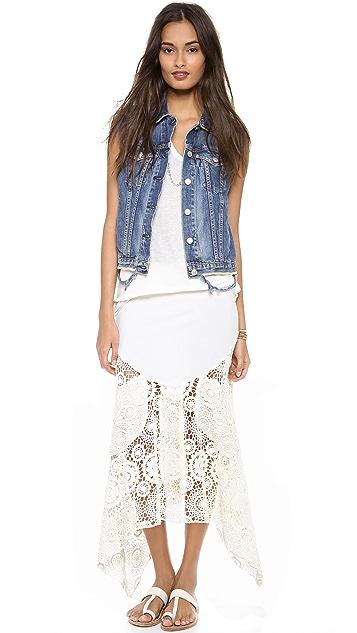 Nightcap x Carisa Rene Maude Crochet Skirt