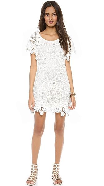 Nightcap Clothing Carmen Crochet Dress