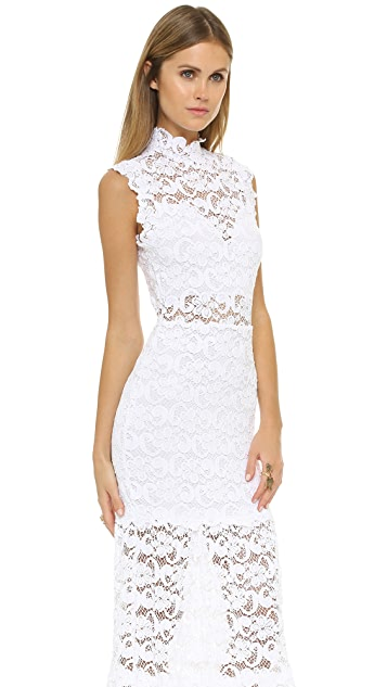 Nightcap x Carisa Rene Dixie Lace Cutout Maxi Dress