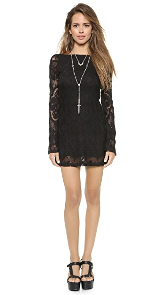 Nightcap x Carisa Rene Crochet Priscilla Dress