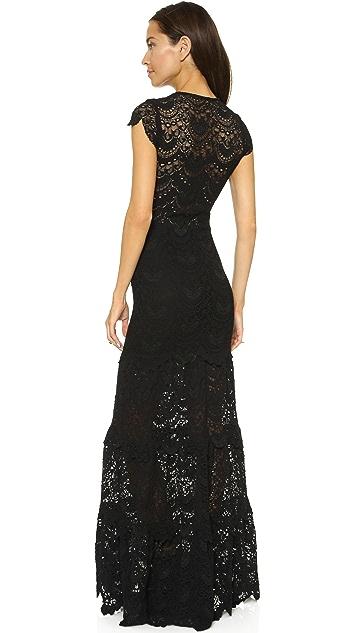 Nightcap x Carisa Rene Spanish V Maxi Dress