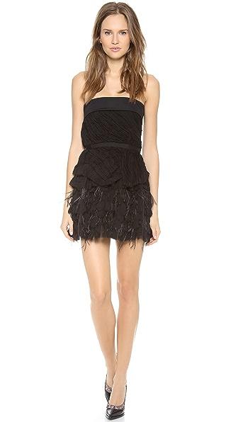 Nina Ricci Strapless Cocktail Dress