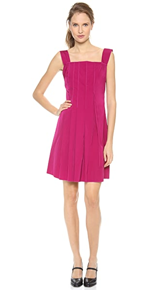 Nina Ricci Raised Pleat Tank Dress