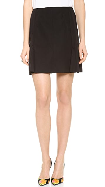 Nina Ricci Pleated Skirt