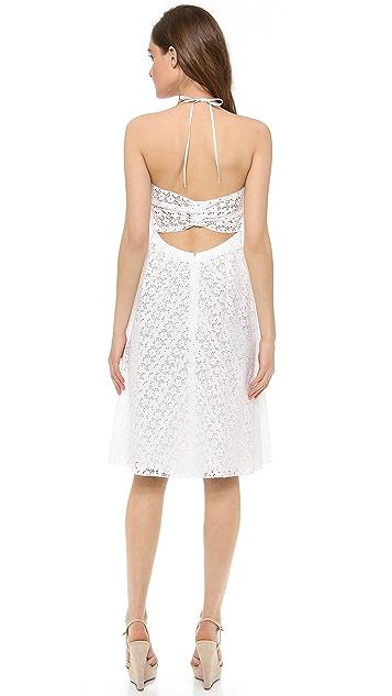 Nina Ricci Sleeveless Halter Dress