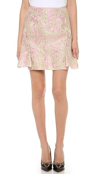 Nina Ricci Pencil Pleated Skirt