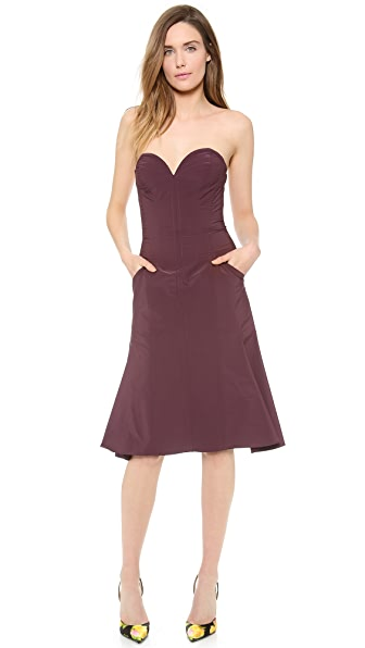 Nina Ricci Strapless Dress