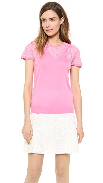 Nina Ricci Short Sleeve Sweater