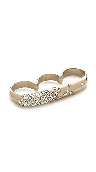 Nina Ricci Triple Finger Ring