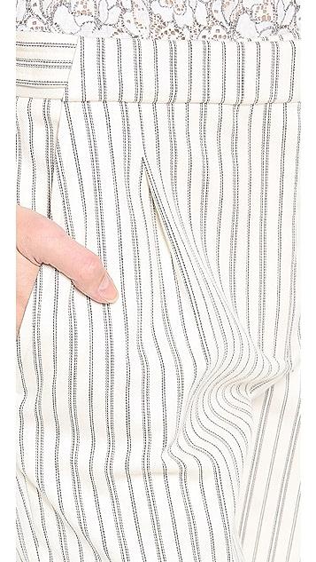 Nina Ricci Cropped Straight Pants
