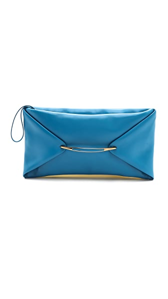 Nina Ricci Leather Clutch