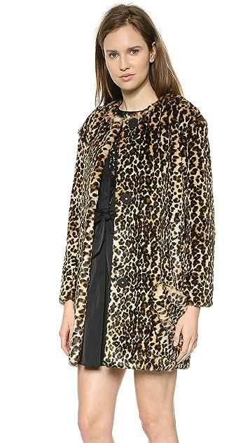 Nina Ricci Leopard Coat