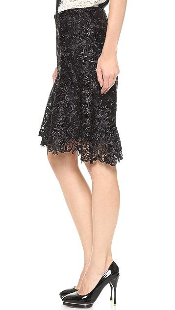 Nina Ricci Lace Skirt