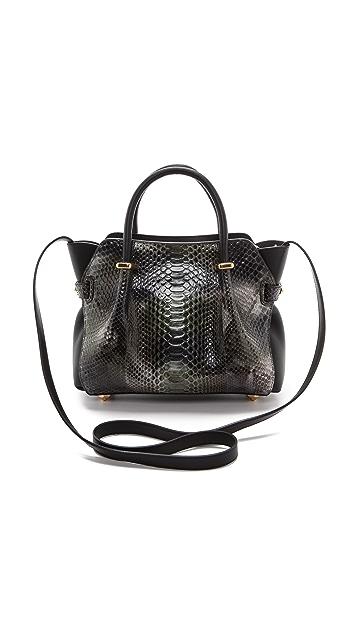 Nina Ricci Python Leather Handbag