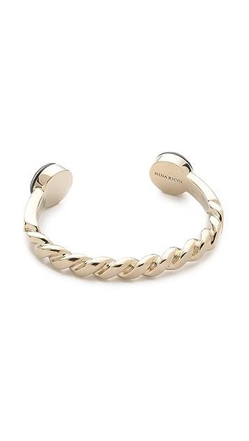 Nina Ricci Open Cuff Bracelet
