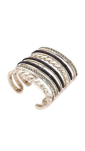 Nina Ricci Multi Bracelet Cuff