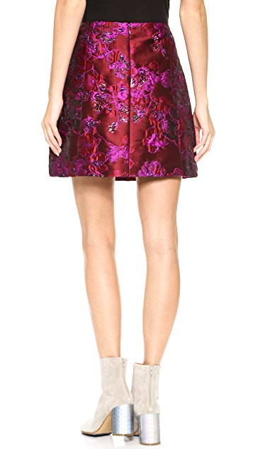 Nina Ricci Multicolored Skirt