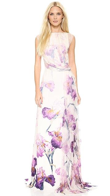 Nina Ricci Floral Gown