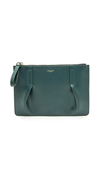 Nina Ricci Leather Pouchette