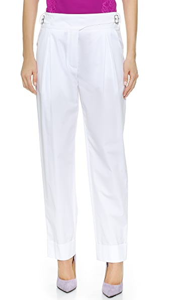 Nina Ricci Straight Pants - White