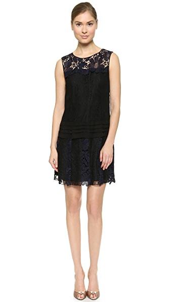 Nina Ricci Lace Layer Dress
