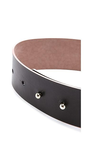 Nina Ricci Wide Leather Belt