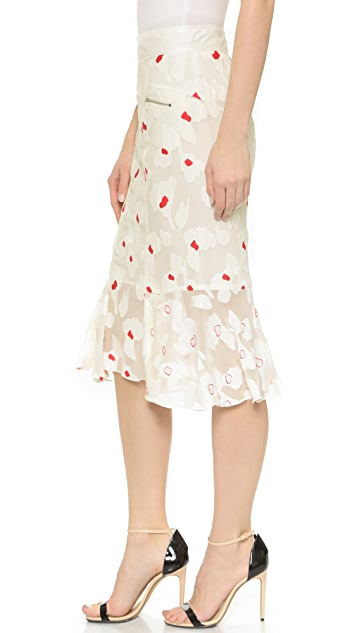 Nina Ricci Print Skirt