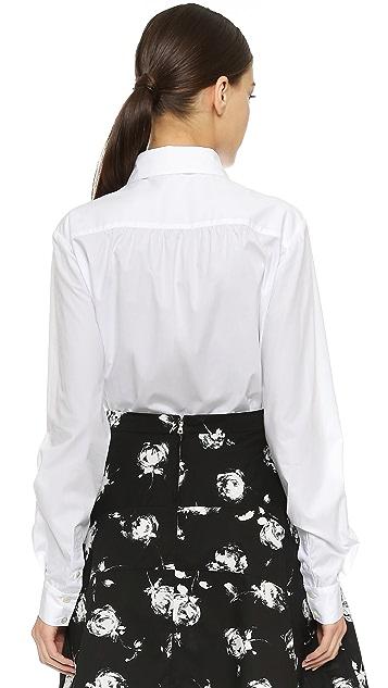Nina Ricci Embroidered Blouse