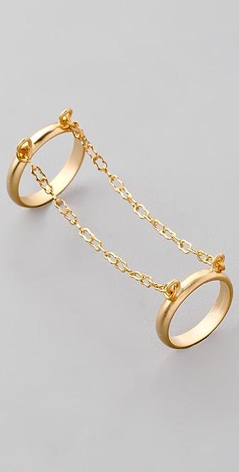 Nissa Jewelry Twins Ring
