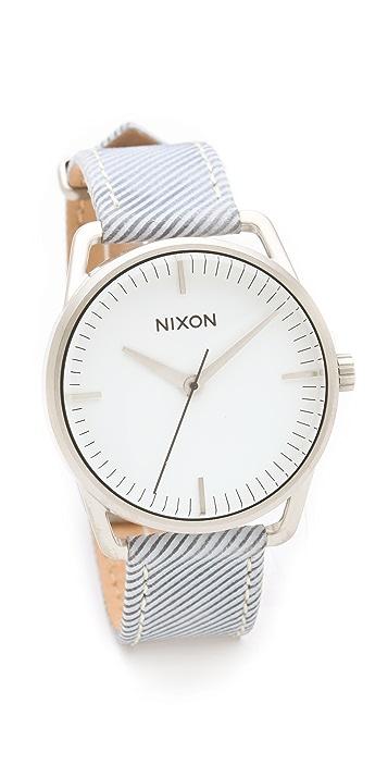 Nixon The Mellor Pinstripe Watch