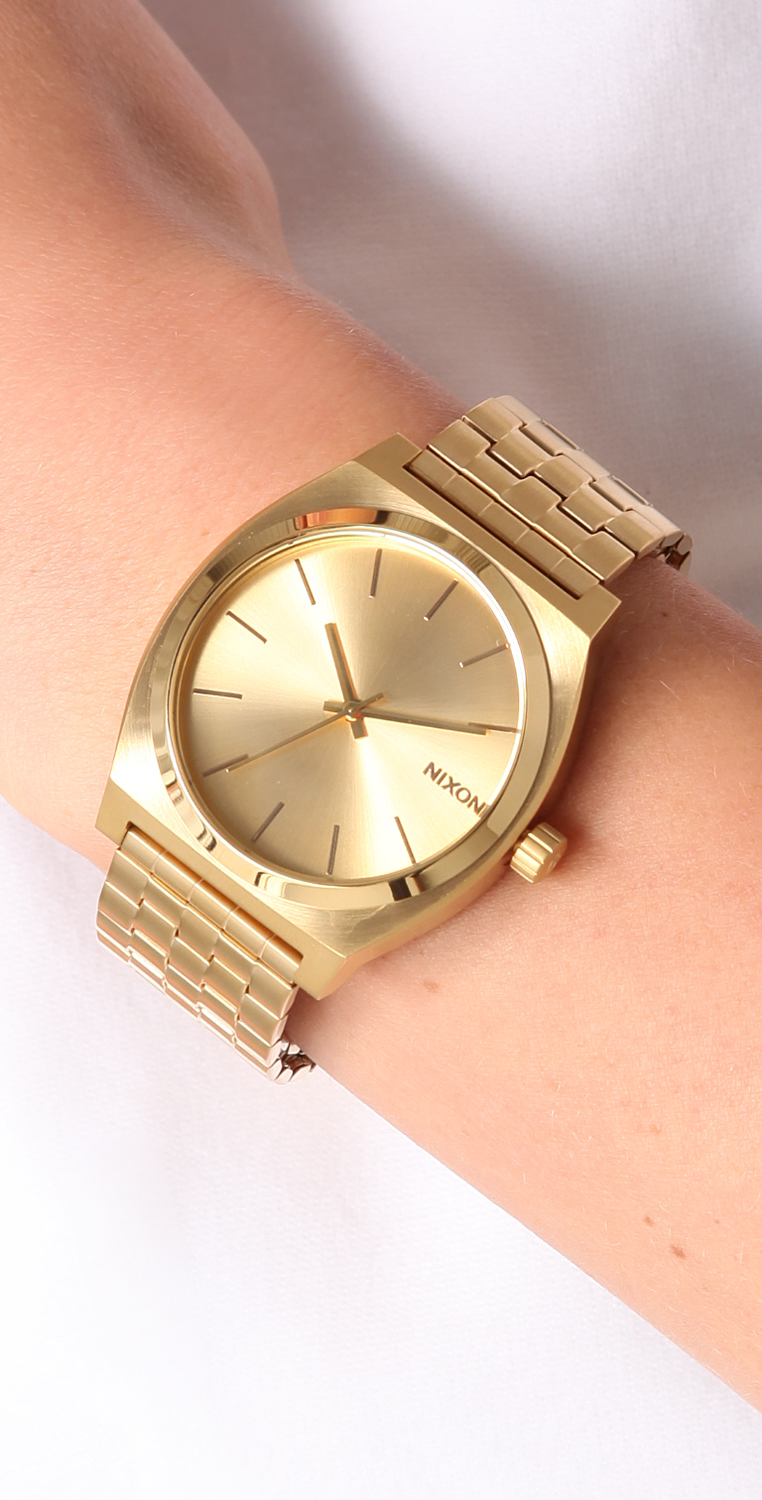 small loading stainless ladies steel time teller itm watch nixon image watches is