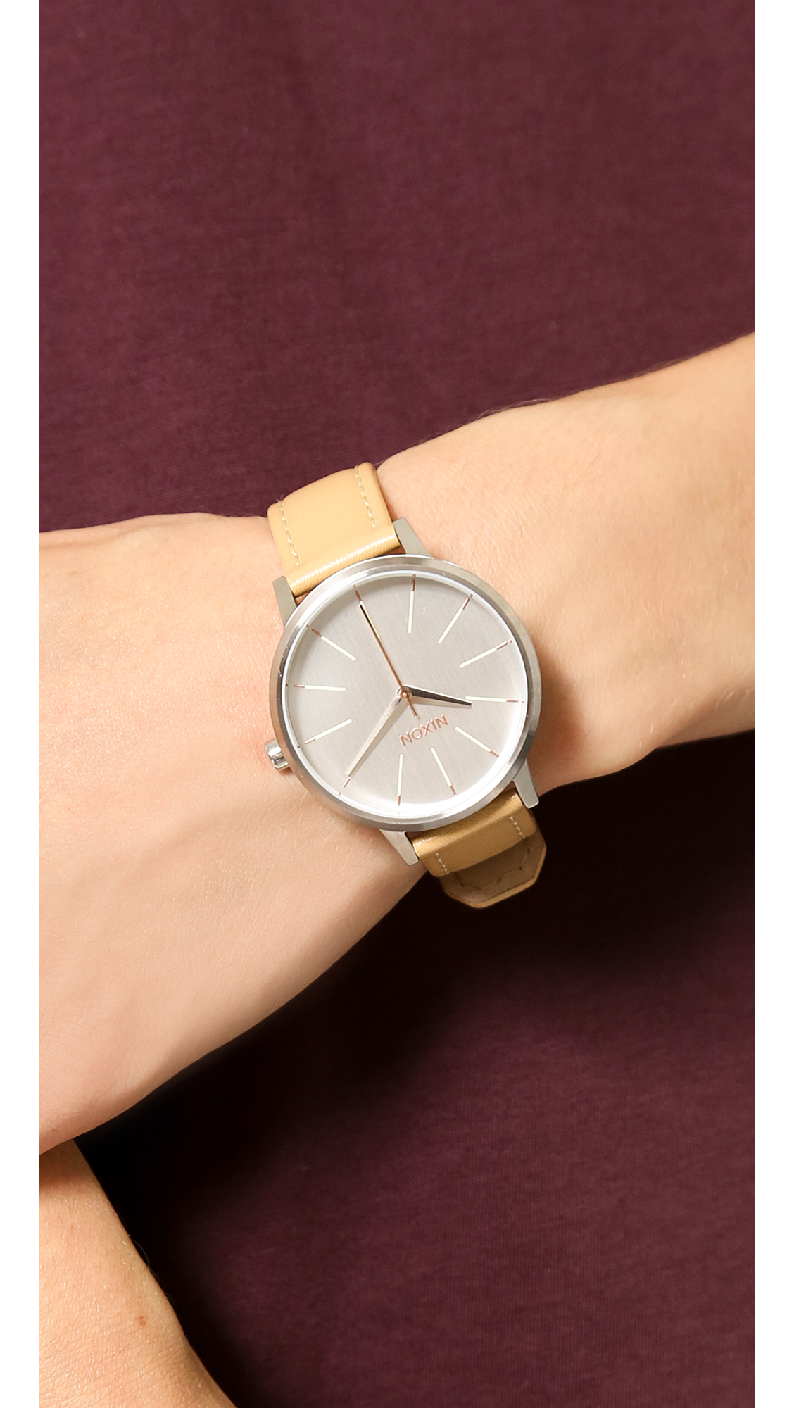 064f7fbf4 Nixon Kensington Leather Watch | SHOPBOP