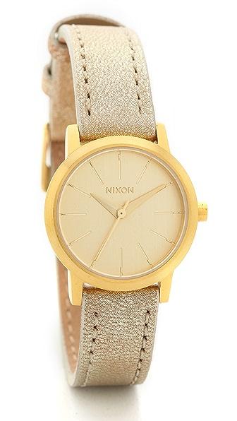 Nixon Kenzi Leather Watch