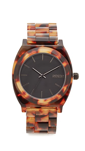 Nixon Time Teller Acetate Watch at Shopbop