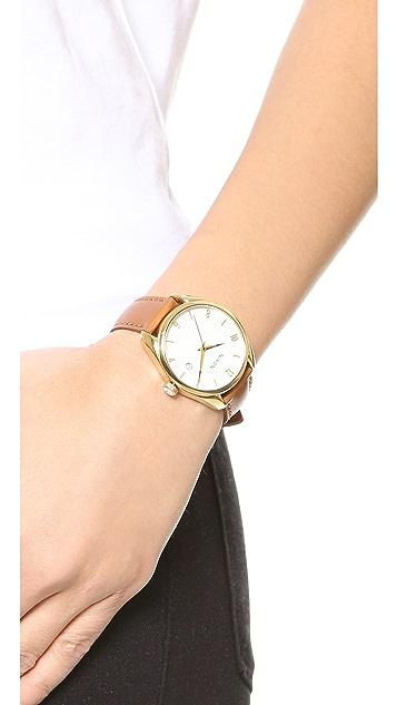 Nixon Bullet Leather Watch