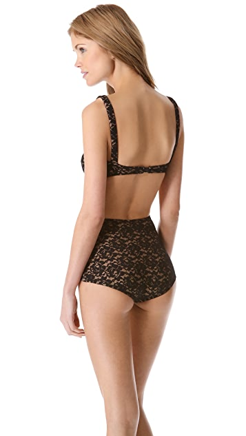 Norma Kamali Mio Lace One Piece Swimsuit
