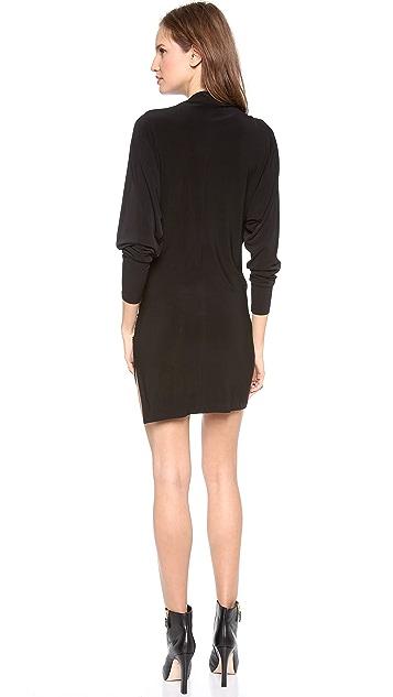 Norma Kamali Long Sleeve Daphne Dress