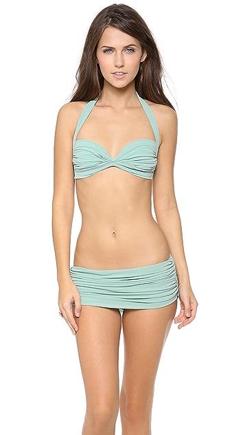 Norma Kamali Low Rise Bill Bikini Bottoms