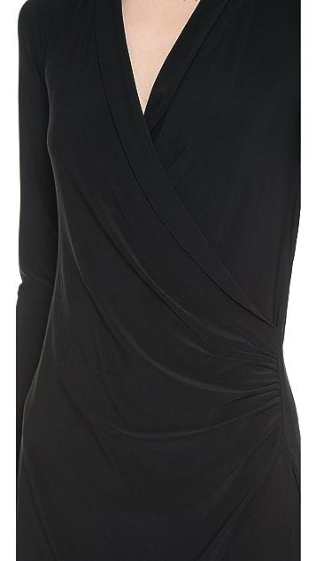 Norma Kamali Kamali Kulture Draped Dress