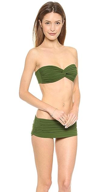 Norma Kamali Johnny Bikini Top