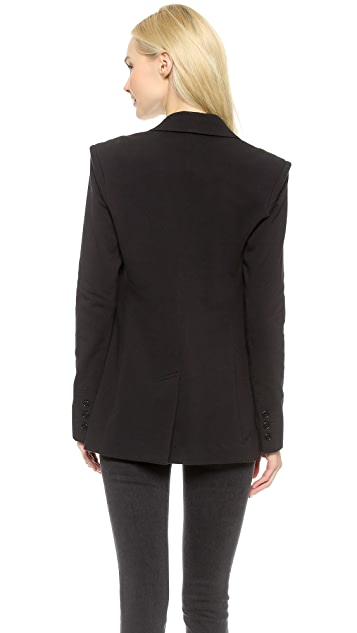 Norma Kamali Boyfriend Jacket