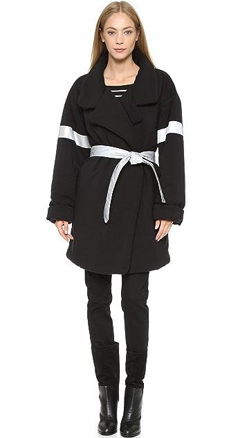 Norma Kamali Reversible Quilted Sleeping Bag Coat