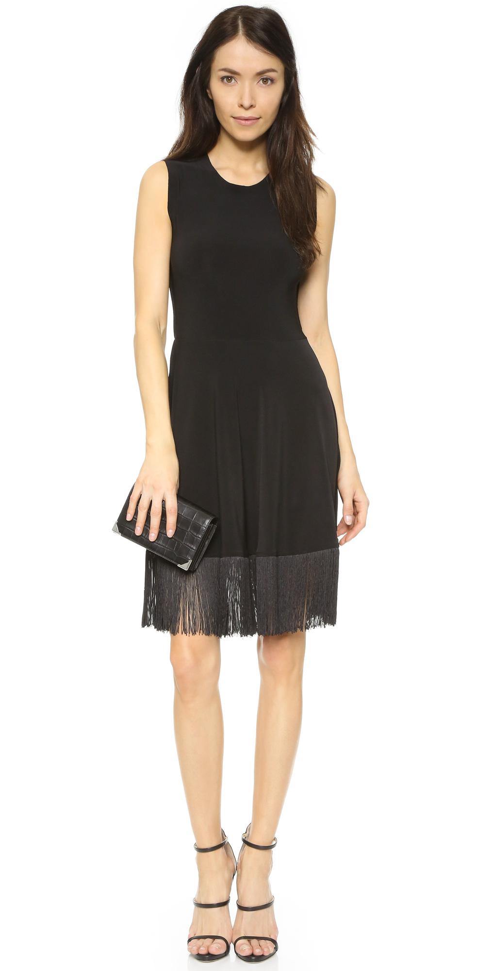 Norma Kamali Womens Lamp Shade Dress