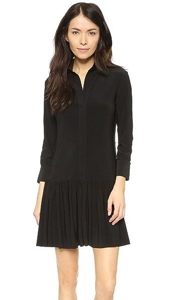 Norma Kamali Kamali Kulture Ra Ra Shirt Dress