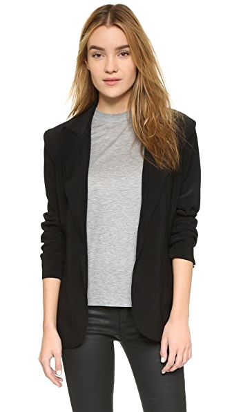 Norma Kamali Kamali Kulture Single Breasted Jacket at Shopbop