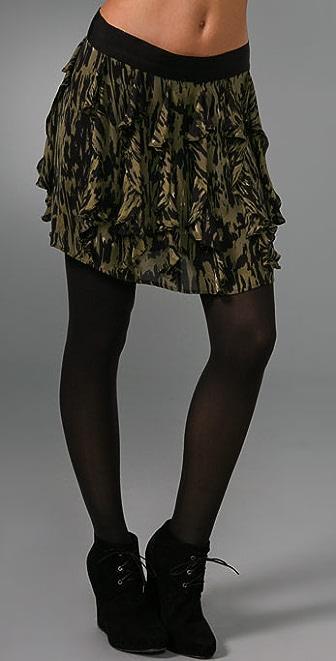 Nili Lotan Ruffle Skirt