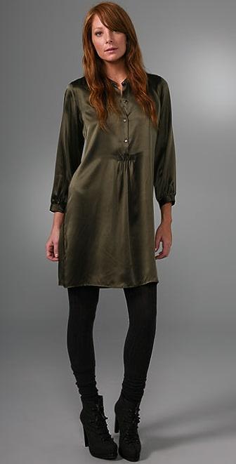 Nili Lotan Tuxedo Dress