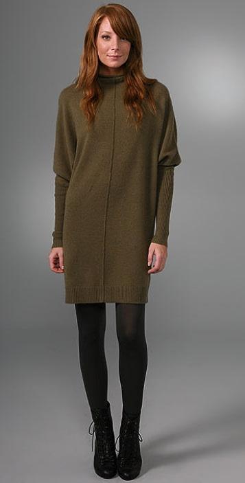 Nili Lotan Triangle Sweater Dress