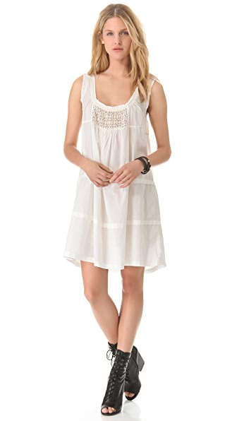 Nili Lotan Stitched Sundress